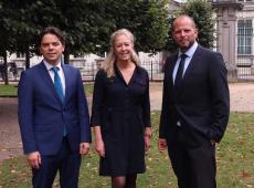 Peter Buysrogge, Karolien Grosemans en Theo Francken