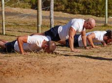 Fysieke proef bij het leger