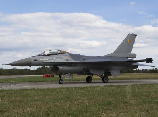 F-16 gevechtsvliegtuig